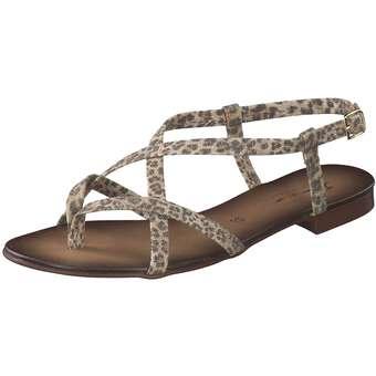 Sandalen für Frauen - Fiocco Sandale Damen braun  - Onlineshop Schuhcenter