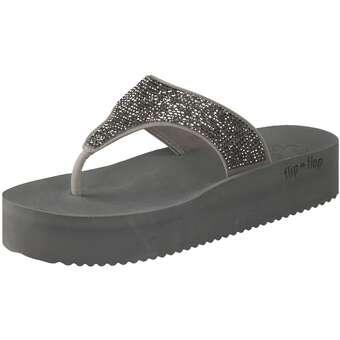 Sandalen für Frauen - Flip Flop Daybed Hi Glam Zehentrenner Damen grau  - Onlineshop Schuhcenter