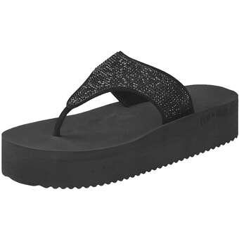 Sandalen für Frauen - Flip Flop Daybed Hi Glam Zehentrenner Damen schwarz  - Onlineshop Schuhcenter