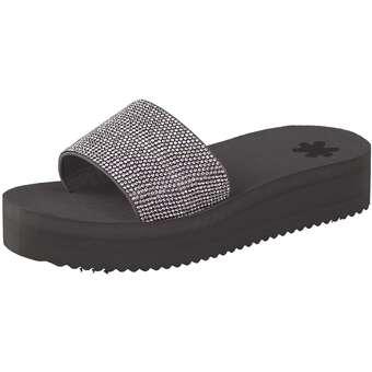 Flip Flop Pantolette grau