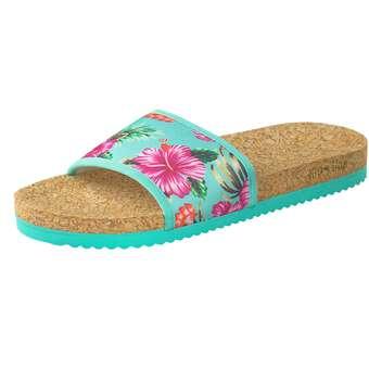 Flip Flop Pool Aloha Pantolette Damen bunt | 04045351490014