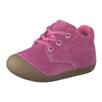 Minigirlschuhe - Lurchi Flo Lauflern Schnürer Mädchen pink - Onlineshop Schuhcenter