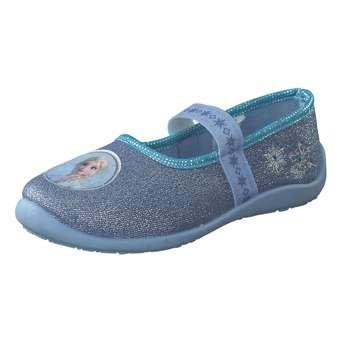 Minigirlschuhe - Frozen Ballerina Hausschuh Mädchen blau - Onlineshop Schuhcenter