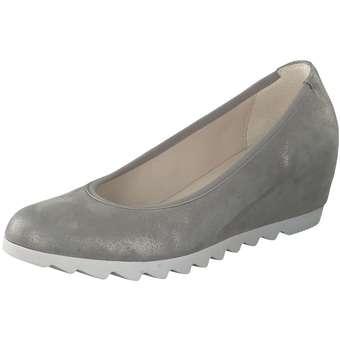 Gabor Keilpumps Damen grau | Schuhe > Pumps > Keilpumps | Gabor
