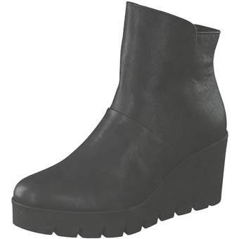 Gabor Keilstiefelette Damen schwarz | Schuhe > Stiefeletten > Keilstiefeletten | Gabor
