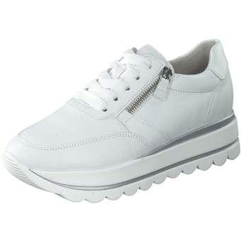 weiße plateau sneaker damen