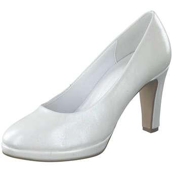 Pumps für Frauen - Gabor Pumps Damen weiß  - Onlineshop Schuhcenter