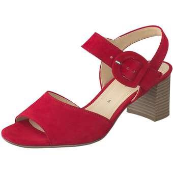 Sandalen für Frauen - Gabor Sandale Damen rot  - Onlineshop Schuhcenter