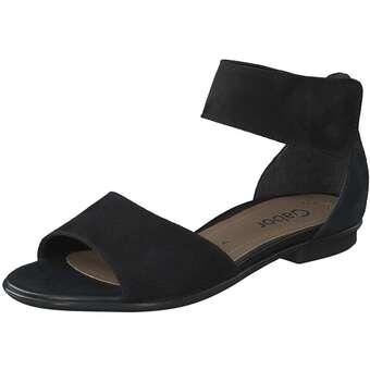 Gabor Sandale Damen schwarz