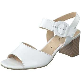 Sandalen für Frauen - Gabor Sandale Damen weiß  - Onlineshop Schuhcenter