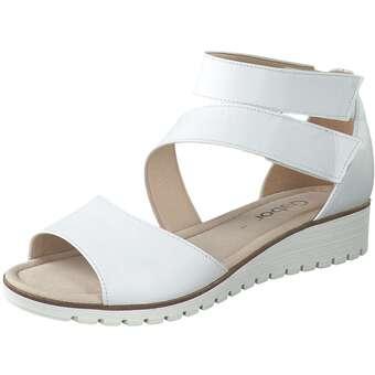 Gabor Sandale Damen weiß