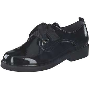 Halbschuhe für Frauen - Gabor Schnürer Damen schwarz  - Onlineshop Schuhcenter