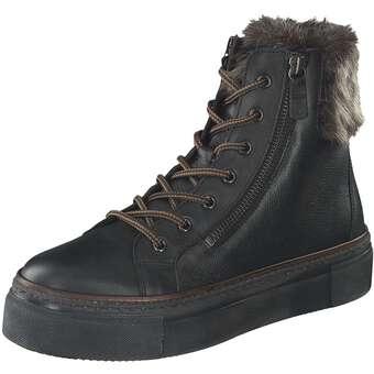 Gabor Schnürstiefelette Damen schwarz | Schuhe > Stiefel > Schnürstiefel | Gabor