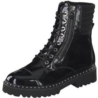 Stiefel für Frauen - Gabor Schnürstiefelette Damen schwarz  - Onlineshop Schuhcenter