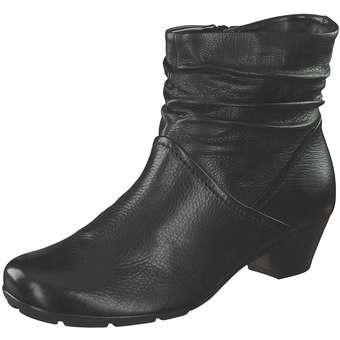 Gabor Stiefelette Damen schwarz | Schuhe > Stiefeletten | Schwarz | Leder | Gabor