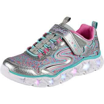 Minigirlschuhe - Skechers Galaxy Lights Mädchen silber - Onlineshop Schuhcenter