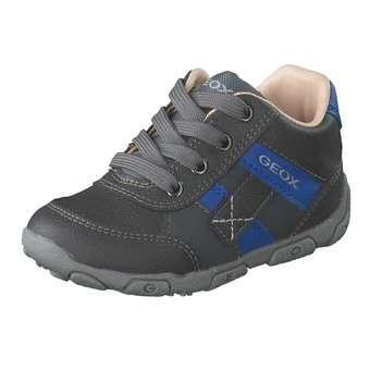 - Geox B Balu Boy Lauflern Schnürer Jungen grau - Onlineshop Schuhcenter