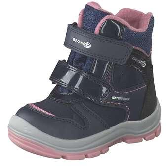 Geox B Trivor Girl B WPF Boots Mädchen blau