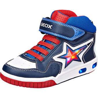 Geox J Gregg High Sneaker