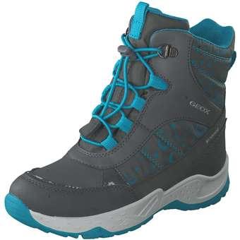 Minigirlschuhe - Geox J Sentiero Boot Mädchen grau - Onlineshop Schuhcenter