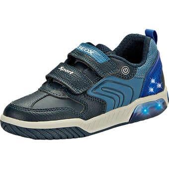 Geox Jr Inek Boy Sneaker blau