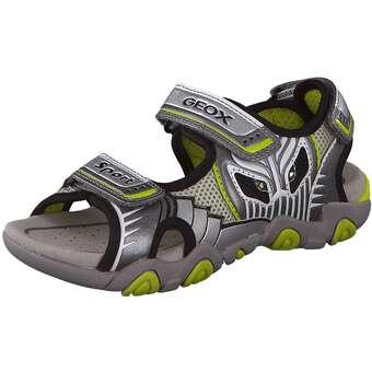 Geox JR Sandal Strike grau