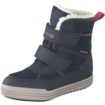 Geox Zorian Girl Klett Boots Mädchen blau