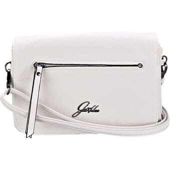 Clutches für Frauen - Glüxklee Clutch Damen weiß  - Onlineshop Schuhcenter