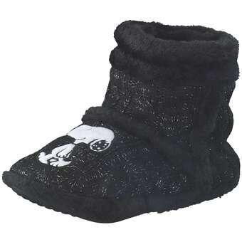 Hausschuhe für Frauen - Snoopy Hausschuhe Damen schwarz  - Onlineshop Schuhcenter