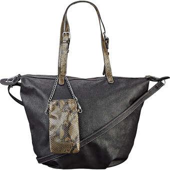 Handtaschen - s.Oliver Henkeltasche Damen schwarz  - Onlineshop Schuhcenter