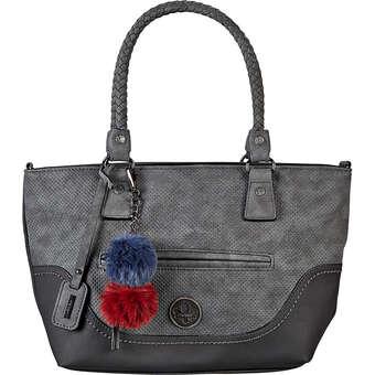 Rieker Henkeltasche Damen grau | Taschen > Handtaschen > Henkeltaschen | Rieker