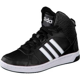 adidas neo Hoops Team Mid W schwarz