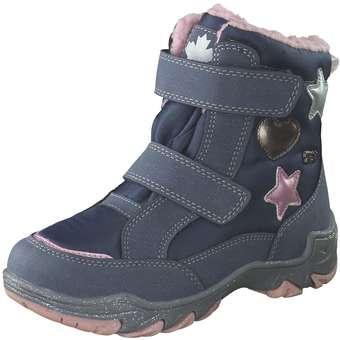 Minigirlschuhe - Indigo Klett Boots Mädchen blau - Onlineshop Schuhcenter