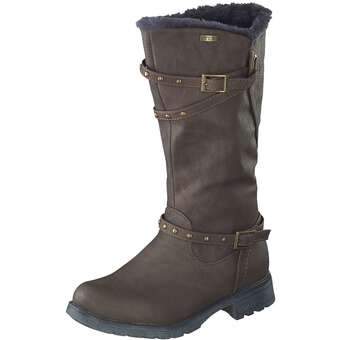 - Indigo Langschaftstiefel Mädchen braun - Onlineshop Schuhcenter