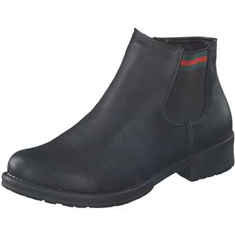 Inspired Shoes Chelsea Boot Damen schwarz
