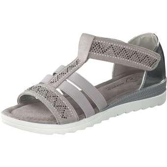 Inspired Shoes Sandale Damen grau