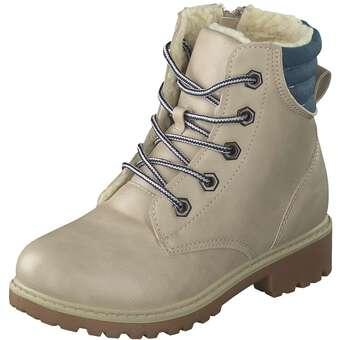 - Inspired Shoes Schnür Boots Mädchen beige - Onlineshop Schuhcenter