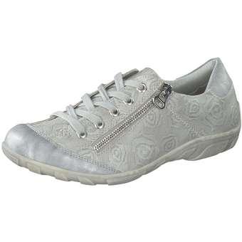 Halbschuhe für Frauen - Inspired Shoes Schnürer Damen grau  - Onlineshop Schuhcenter