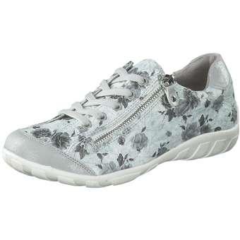 Halbschuhe - Inspired Shoes Schnürer Damen grau  - Onlineshop Schuhcenter