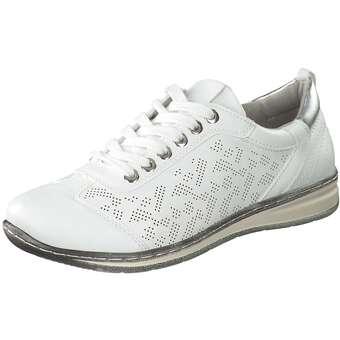 Halbschuhe für Frauen - Inspired Shoes Schnürer Damen weiß  - Onlineshop Schuhcenter