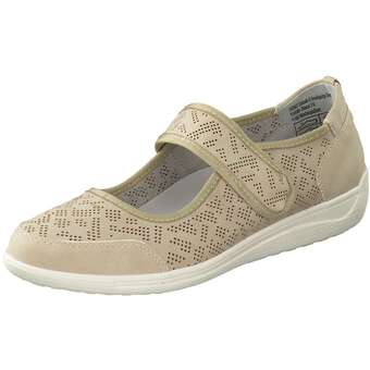 Ballerinas - Inspired Shoes Spangenballerina Damen beige  - Onlineshop Schuhcenter
