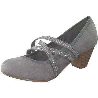 Inspired Shoes Spangenpumps Damen grau