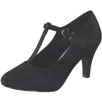Inspired Shoes Spangenpumps Damen schwarz | Schuhe > Pumps > Spangenpumps | Inspired Shoes