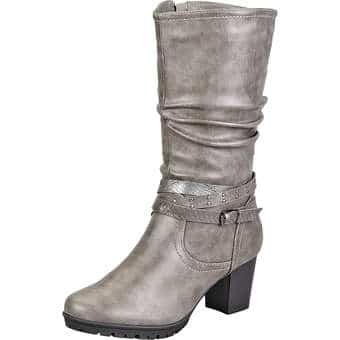Inspired Shoes Stiefel grau