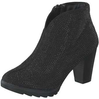 Inspired Shoes Stiefelette Damen schwarz | Schuhe > Stiefeletten | Inspired Shoes