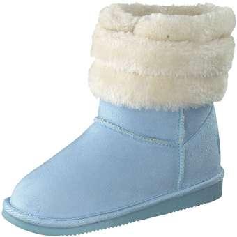 - Inspired Shoes Winter Boots Mädchen blau - Onlineshop Schuhcenter