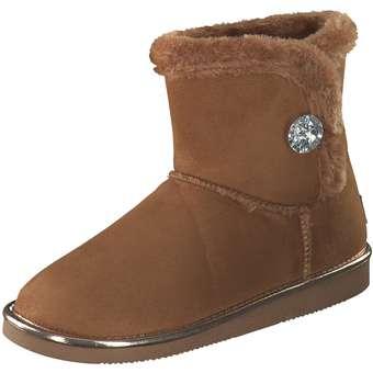 Inspired Shoes Winter Boots Damen braun   Schuhe > Boots > Winterboots   Inspired Shoes