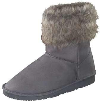 Inspired Shoes Winter Boots Damen grau