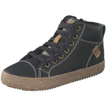 Geox J Alonisso Boy Sneaker High Jungen schwarz