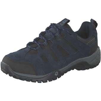 Jack Wolfskin Rebel Hike Low M Outdoor Herren blau | Schuhe > Sportschuhe > Outdoorschuhe | Jack Wolfskin